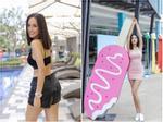 Sao Việt thả dáng trên giường với bikini: Hồ Ngọc Hà cùng Ngọc Trinh đỉnh cao, Minh Hằng và Diva Hồng Nhung mất điểm-14
