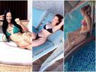 Sao Việt thả dáng trên giường với bikini: Hồ Ngọc Hà cùng Ngọc Trinh đỉnh cao, Minh Hằng và Diva Hồng Nhung mất điểm