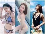 Diện bikini trên bãi biển, Minh Cúc Về Nhà Đi Con lộ hàng loạt hình xăm lớn-8