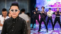 Chào đón nhóm nhạc mới gia nhập showbiz, đàn anh Tùng Dương ân cần dặn dò: 'Hãy biết lắng nghe nhau'