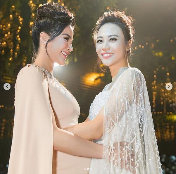 Bị cắt vai phù dâu trước giờ G, Diệp Lâm Anh quyết tâm chờ tới cuối hôn lễ chỉ để... ôm Đàm Thu Trang-2