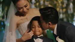 CLIP HOT: Cường Đô La - Đàm Thu Trang cùng bé Subeo cười rạng ngời hạnh phúc trong đám cưới cổ tích