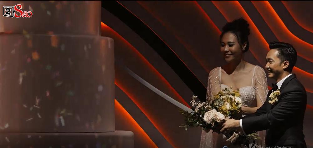 CLIP HOT: Cường Đô La - Đàm Thu Trang cùng bé Subeo cười rạng ngời hạnh phúc trong đám cưới cổ tích-3