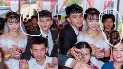 Xuất hiện gương mặt vàng trong làng chụp ảnh ké: Thập thò sau lưng cô dâu chú rể được thợ chụp ghi lại không trượt phát nào