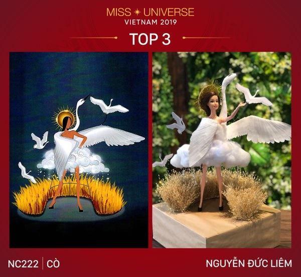 Không phải Bàn Thờ, 1 trong 3 thiết kế này mới là trang phục dân tộc của Hoàng Thùy tại Miss Universe 2019-5