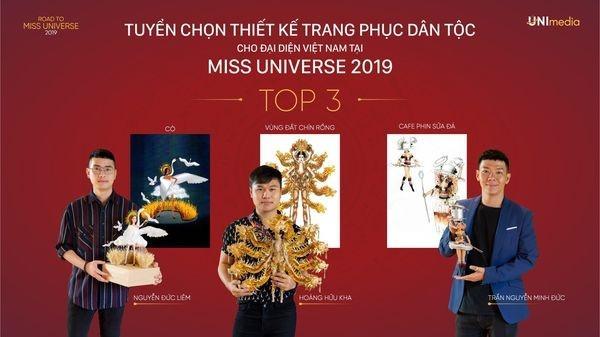 Không phải Bàn Thờ, 1 trong 3 thiết kế này mới là trang phục dân tộc của Hoàng Thùy tại Miss Universe 2019-7