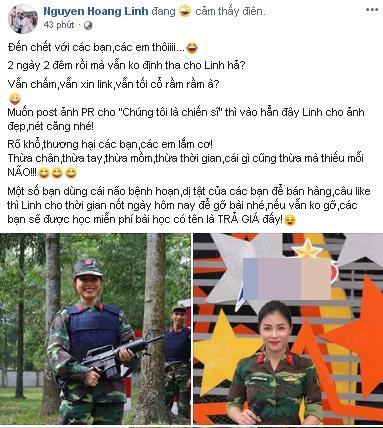 MC Hoàng Linh Chúng Tôi Là Chiến Sĩ phát điên vì cư dân mạng ngày đêm đòi link clip nóng-2