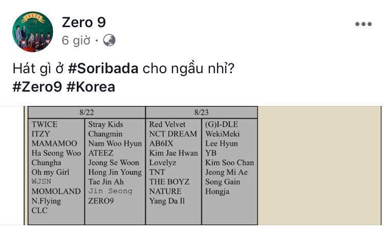 Phản ứng của dân mạng khi nghe tin thảm họa nhạc Việt Zero9 sẽ tham gia Soribada 2019 cùng TWICE - Momoland-1