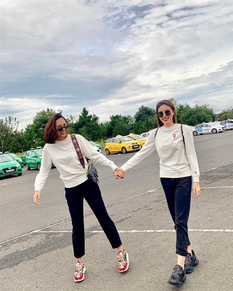 Hoa hậu Kỳ Duyên bị người tình tin đồn Minh Triệu hãm ăn dù đã giảm 10kg-1
