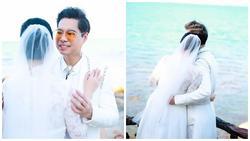 Ngọc Sơn tung ảnh cưới úp mở chuyện lấy vợ và chính thức đòi quà 'đại gia đình'