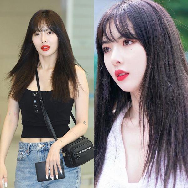 Fan tiếc hùi hụi khi HyunA ngày càng gầy gò bonus cặp môi xúc xích khó tiêu-3