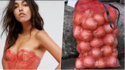 Váy hàng hiệu bị cộng đồng mạng giễu cợt vì trông y hệt...túi đựng hành
