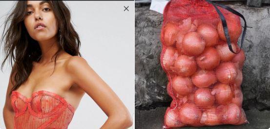 Váy hàng hiệu bị cộng đồng mạng giễu cợt vì trông y hệt...túi đựng hành-2