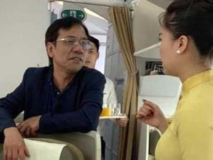Sàm sỡ trên máy bay, ông Vũ Anh Cường đến nhà xin lỗi vợ chồng nữ hành khách