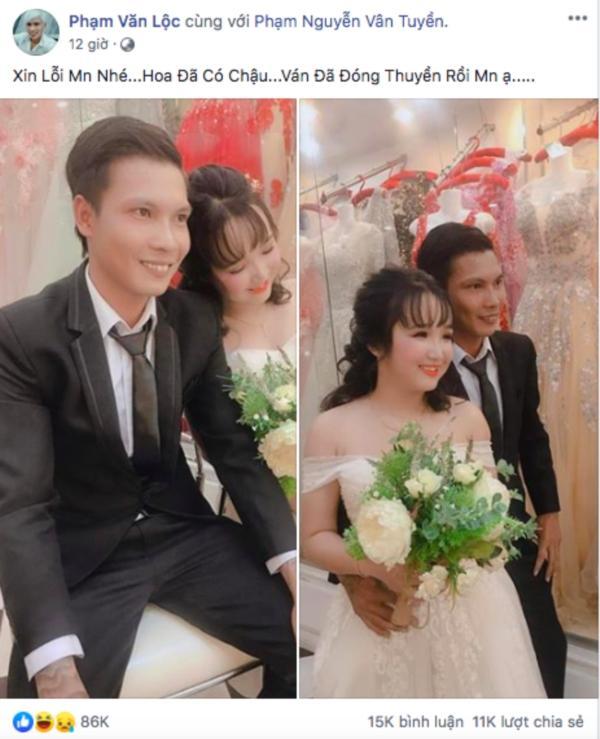 Thánh comment dạo Lộc Idol khoe ảnh chụp bên cô dâu xinh đẹp khiến dân mạng ngã ngửa-3