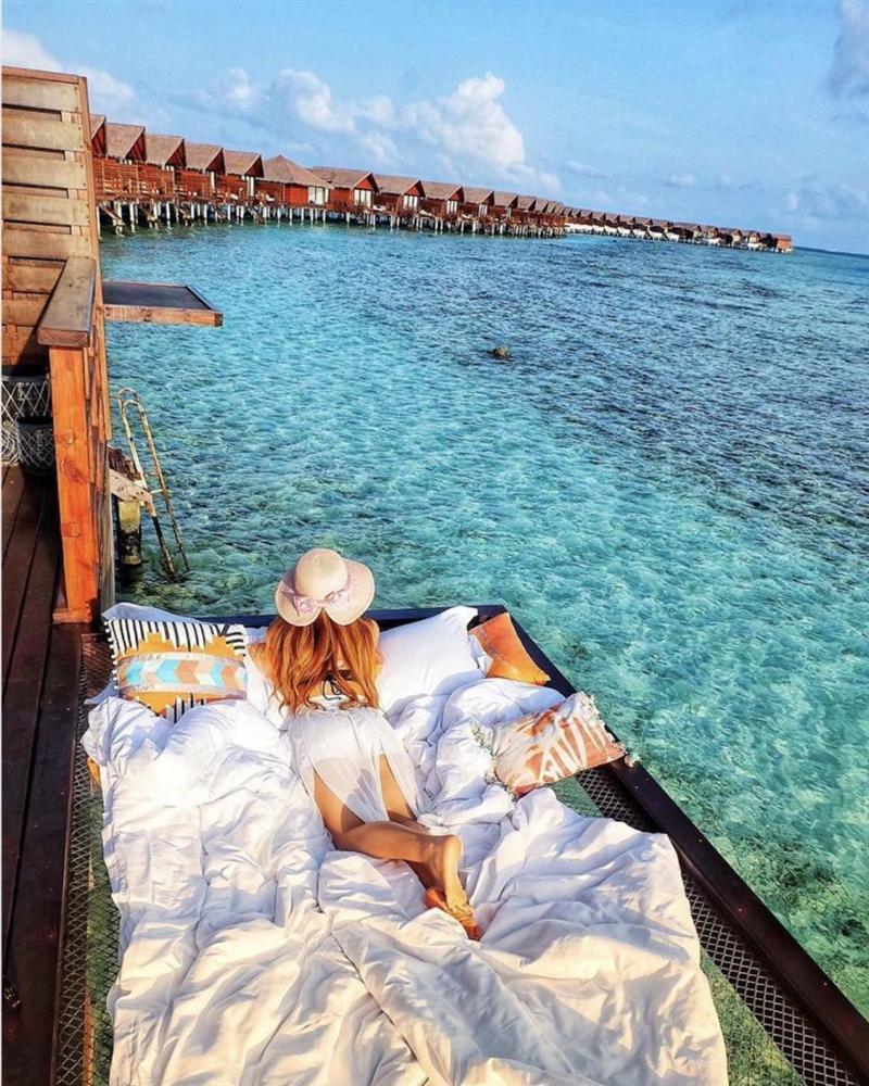 Chi 400 USD/đêm ngủ giữa đại dương, ngắm bình minh ở Maldives-5