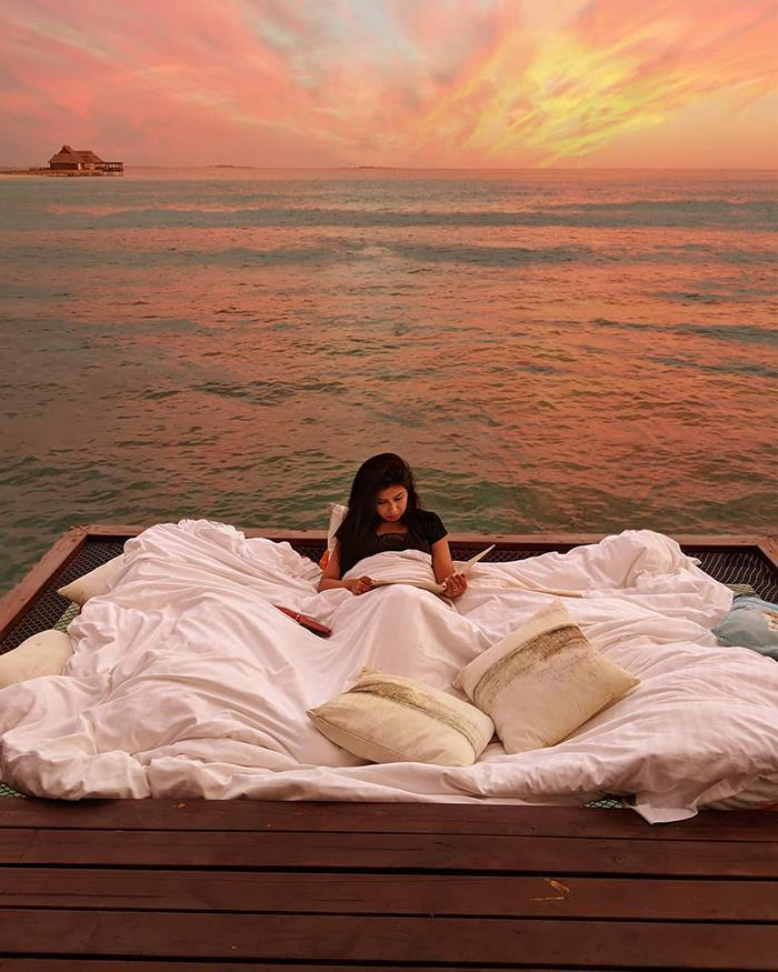 Chi 400 USD/đêm ngủ giữa đại dương, ngắm bình minh ở Maldives-8