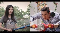 Sợ Lương Thế Thành lấy moto chở gái, Thúy Diễm bắt lựa chọn 'giữa em và xe anh chọn ai'