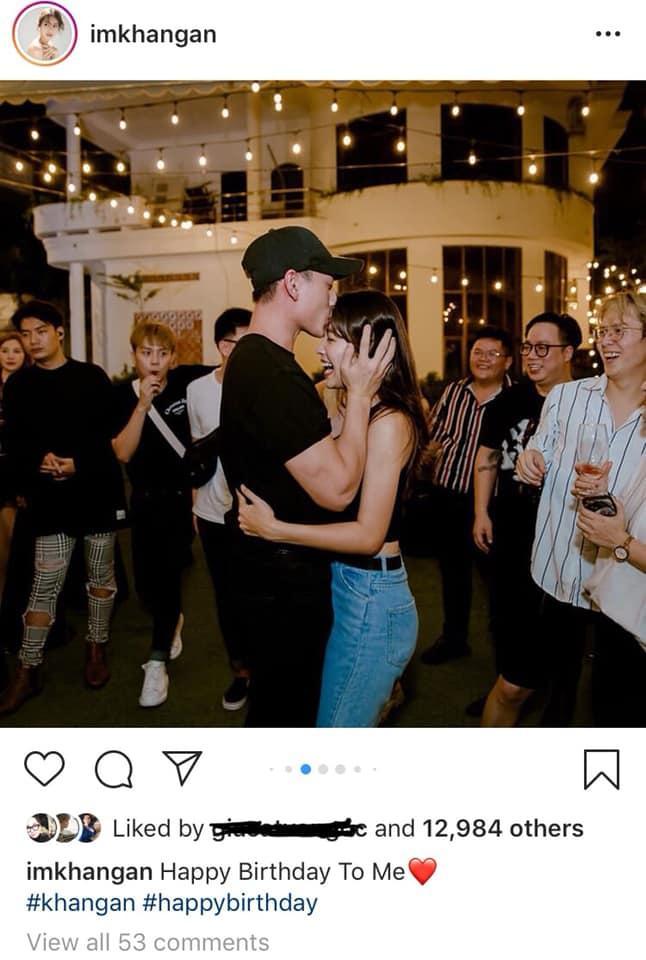 Isaac hôn trán Khả Ngân trong tiệc sinh nhật làm dấy lên nghi án yêu đương-1