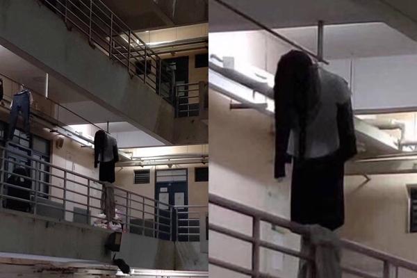 BỨC ẢNH NÓNG NHẤT MXH: Cô gái khiến người nhìn hoa mắt vì tưởng mặc mỗi đồ lót ngồi giặt quần áo giữa sân-3