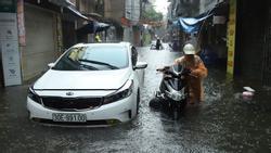 Thời tiết 3 ngày tới, Hà Nội mưa rất to, nguy cơ ngập úng