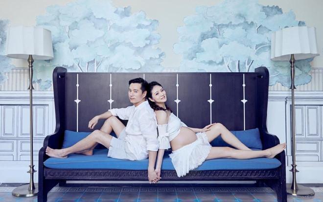 Người đẹp showbiz Trung Quốc sớm lấy lại dáng thon thả sau sinh-1
