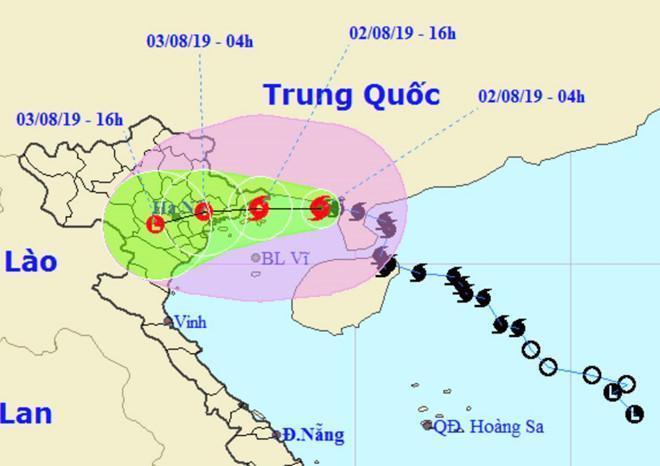 Bão số 3 đã vào vịnh Bắc Bộ, Quảng Ninh - Hải Phòng gió giật mạnh-1