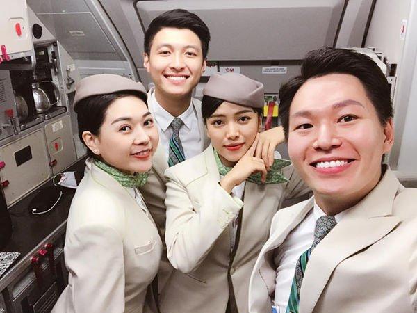 Hội những anh chàng tiếp viên Việt đẹp trai và thu hút, được mệnh danh là soái ca hàng không-2