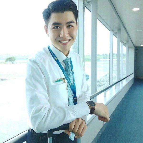 Hội những anh chàng tiếp viên Việt đẹp trai và thu hút, được mệnh danh là soái ca hàng không-5