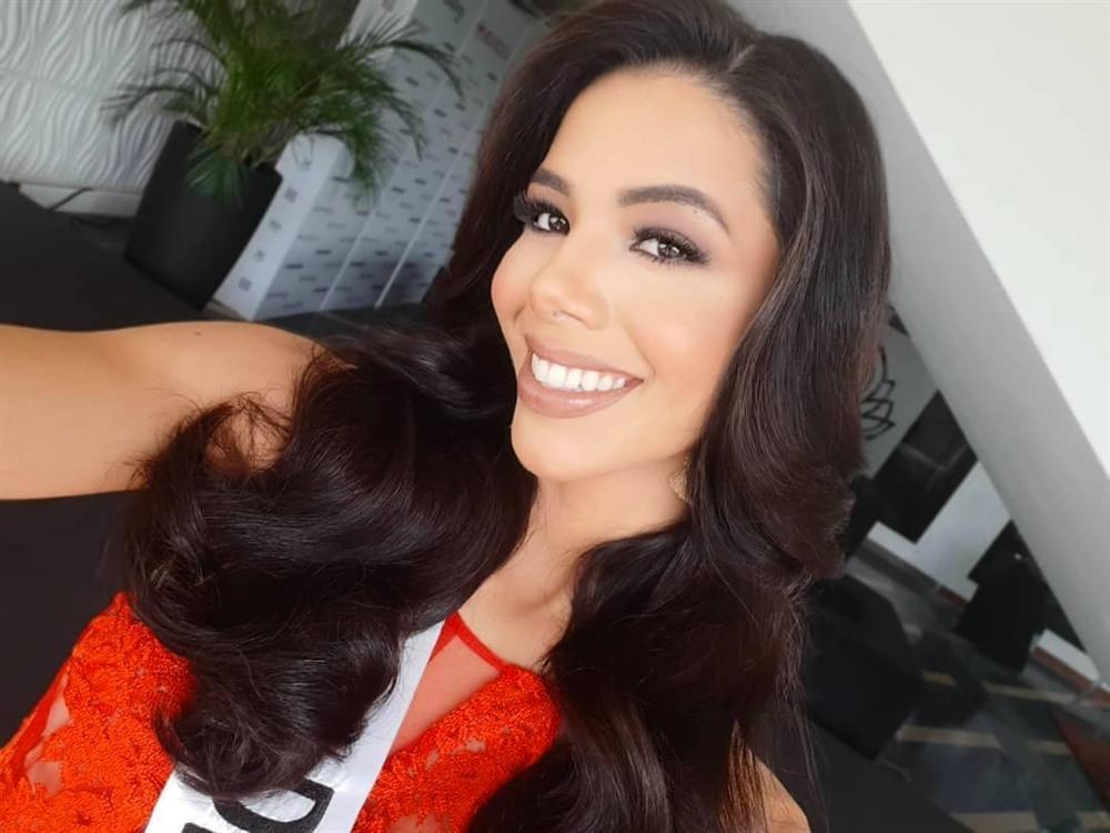 Hoa hậu Venezuela 2019 lộ diện kém sắc, ngực lép nhưng vẫn đe dọa khả năng intop của Hoàng Thùy-8