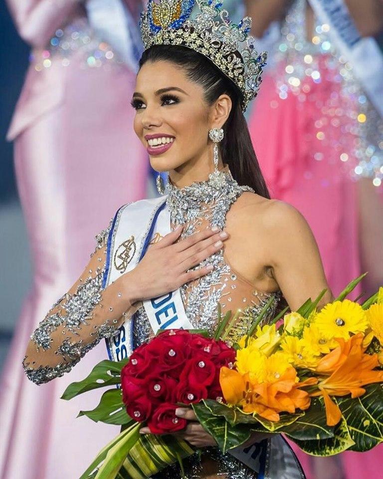 Hoa hậu Venezuela 2019 lộ diện kém sắc, ngực lép nhưng vẫn đe dọa khả năng intop của Hoàng Thùy-2