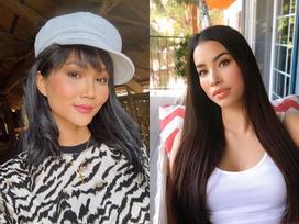 Bản tin Hoa hậu Hoàn vũ 2/8: Cùng để tóc dài, nhan sắc H'Hen Niê có át nổi đàn chị Phạm Hương?