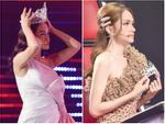Hương Giang bật cười khi Phạm Quỳnh Anh đội vương miện 'siêu to khổng lồ' tranh giành thí sinh
