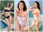 Những lần hiếm hoi Đỗ Mỹ Linh khoe body đẹp từng centimet với bikini