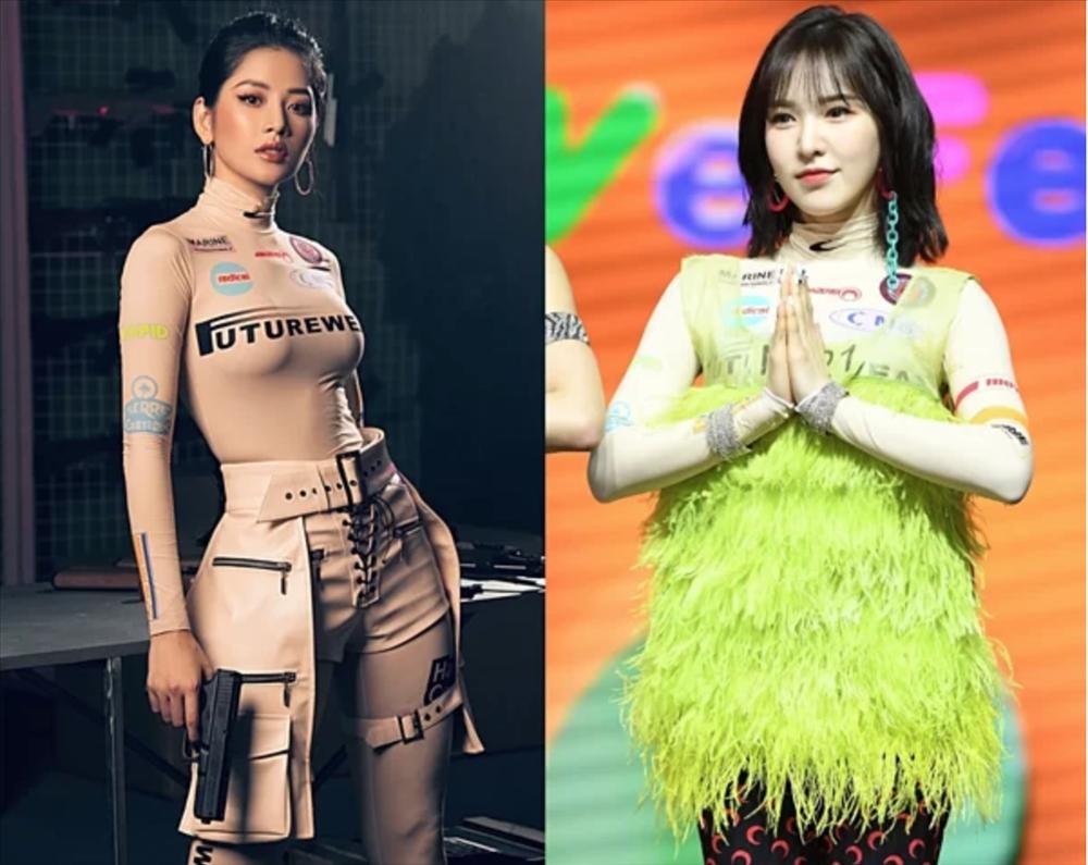 Chi Pu đụng hàng từ Black Pink, Red Velvet đến nữ chính Chiếc lá bay-2