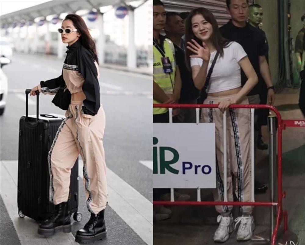 Chi Pu đụng hàng từ Black Pink, Red Velvet đến nữ chính Chiếc lá bay-4