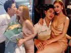 Lộ ảnh ăn mặc sexy ngồi lên đùi rồi hôn trai lạ, hot girl đình đám gốc Thái Bình khiến dân mạng choáng váng