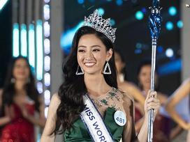 Nhan sắc Đại học Ngoại thương Lương Thùy Linh chính thức đăng quang Miss World Vietnam 2019