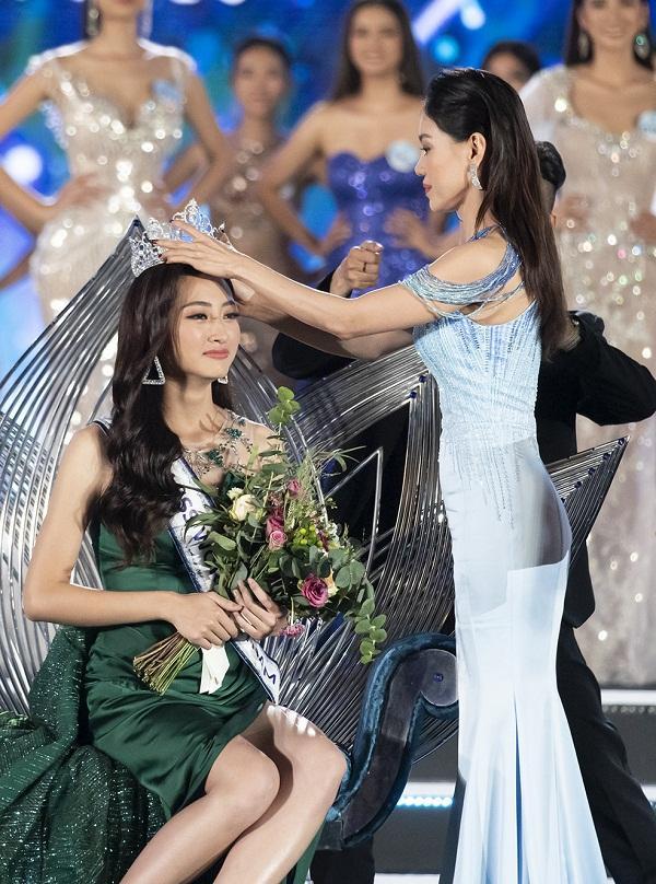 Nhan sắc Đại học Ngoại thương Lương Thùy Linh chính thức đăng quang Miss World Vietnam 2019-1
