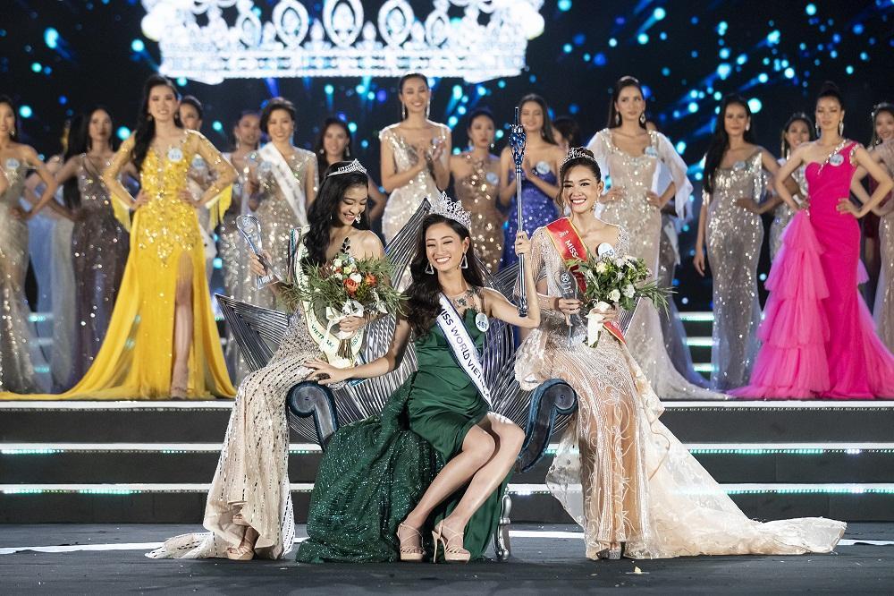 Nhan sắc Đại học Ngoại thương Lương Thùy Linh chính thức đăng quang Miss World Vietnam 2019-7