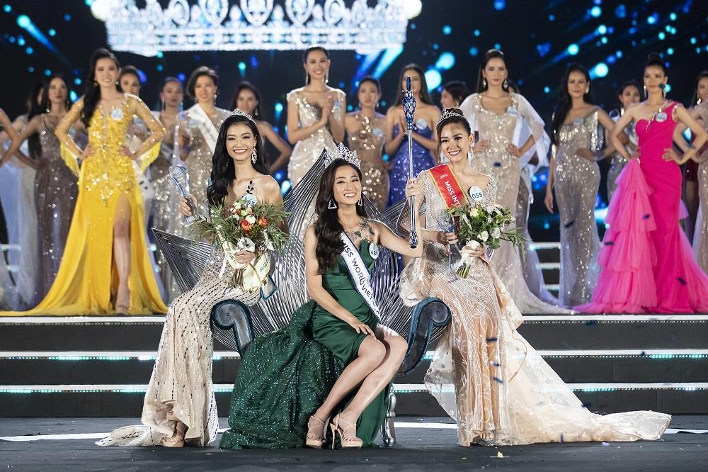 Nhan sắc Đại học Ngoại thương Lương Thùy Linh chính thức đăng quang Miss World Vietnam 2019-6