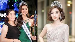 Mẹ tân Hoa hậu Thế giới Việt Nam 2019 Lương Thùy Linh: 'Đỗ Mỹ Linh xinh hơn con gái tôi nhiều'