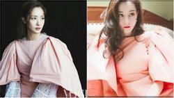 Park Min Young 'đụng hàng' với Địch Lệ Nhiệt Ba: em thì xinh lung linh, chị như mới đi đánh lộn