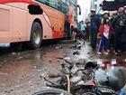 Nhân chứng bàng hoàng kể lại giây phút xe khách giường nằm lao vào chợ ven đường ở Gia Lai khiến 4 người tử vong