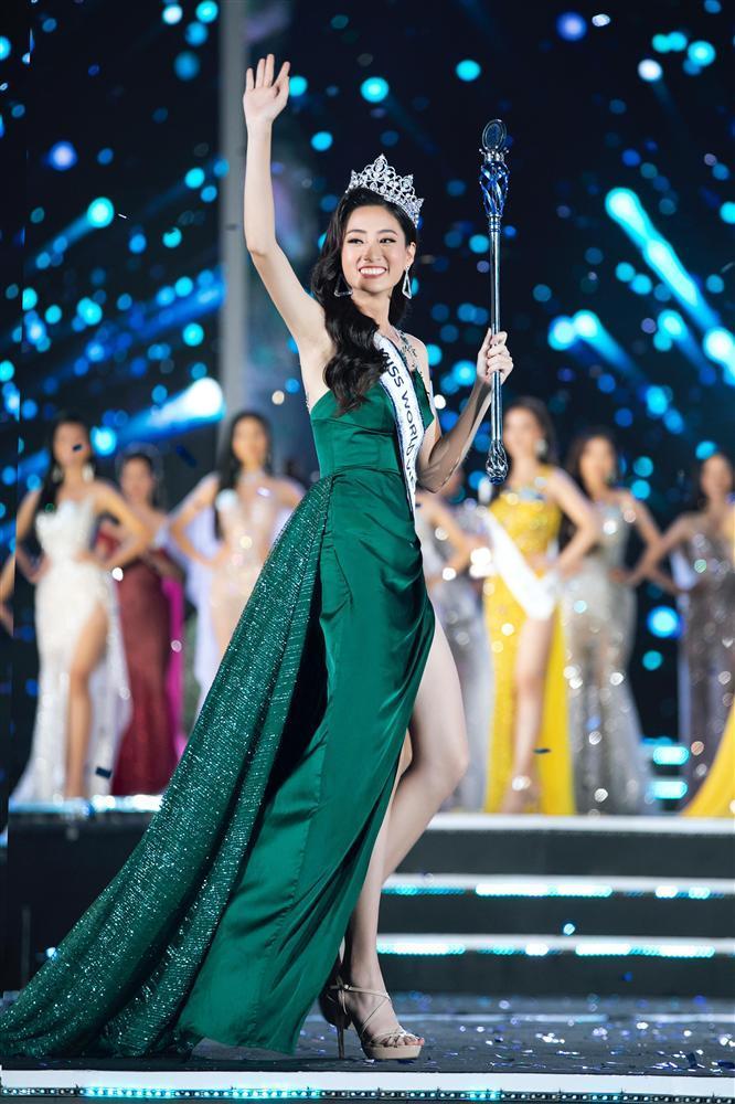 NTK váy dạ hội của Miss World Vietnam 2019: 'Lương Thuỳ Linh rất ngoan, lễ phép và hiểu chuyện'-2
