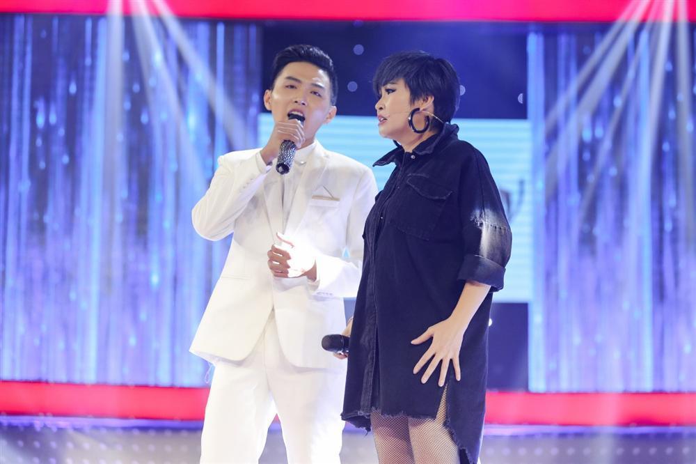 Khán giả ngất ngây khi nghe Ngô Kiến Huy song ca ngọt lịm cùng hot boy kẹo kéo-2