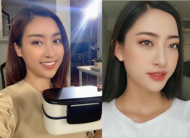 Đỗ Mỹ Linh dí dỏm bình luận về việc giống Hoa hậu Lương Thùy Linh-1