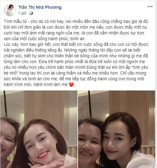HOT: Nhã Phương chính thức xác nhận đã sinh con cho ông xã Trường Giang-1