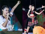 Clip: Giọng hát ngọt lịm của hai Á hậu Nguyễn Tường San, Nguyễn Hà Kiều Loan