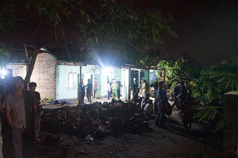 Con rể dùng dao bầu đâm chết bố vợ và anh vợ tại Quảng Ninh-1
